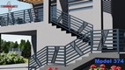balustrada barierka na schodach i spoczynku