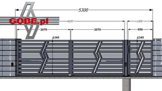 projekt nowoczesnego ogrodzenia jak wykonać pomiary bramy i furtki na słupkach murowanych